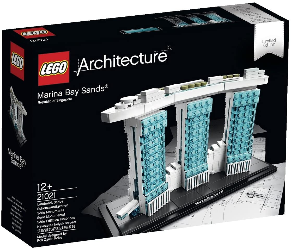 Lego Architecture Marina Bay Sands 21021